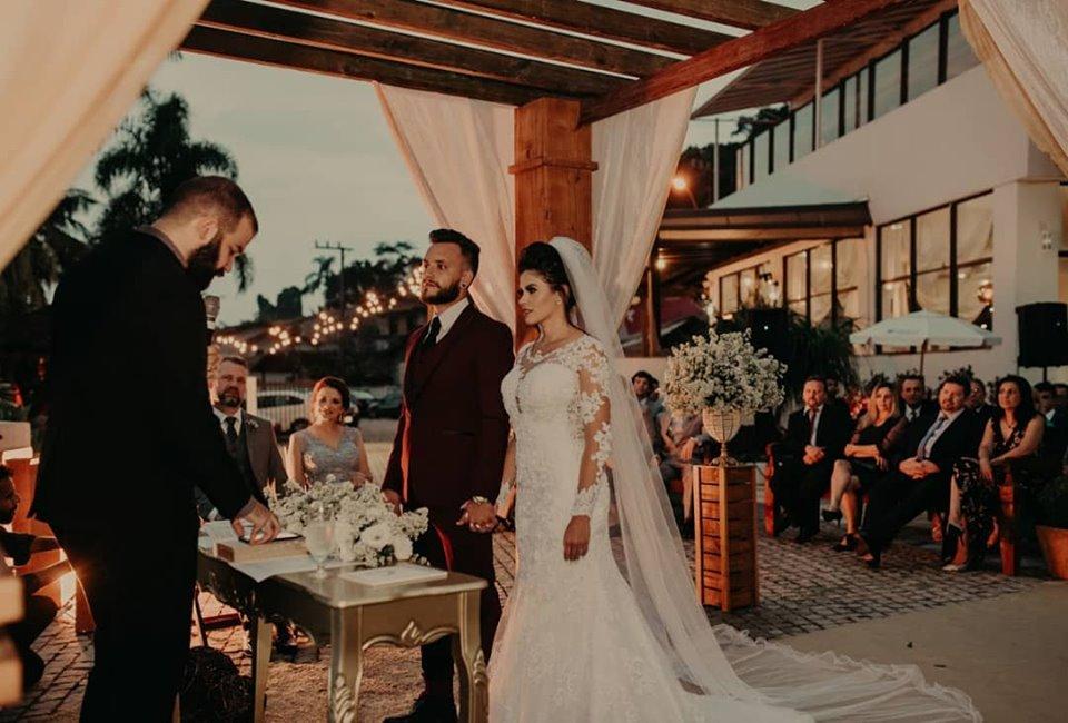 Casamento Bruna & Lucas – 27.04.19 – Hotel Villa Real – São Francisco do Sul – SC